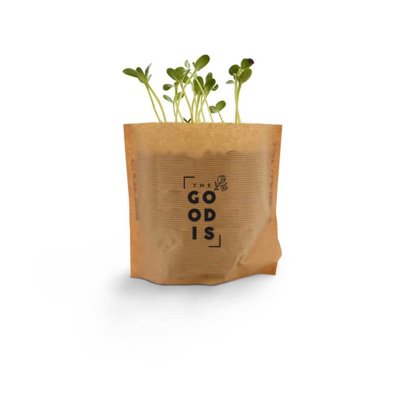 Cadeau d'entreprise écologique - Pot Kraft Easy