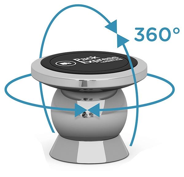 Support smartphone magnétique Chromy - Cadeau personnalisable