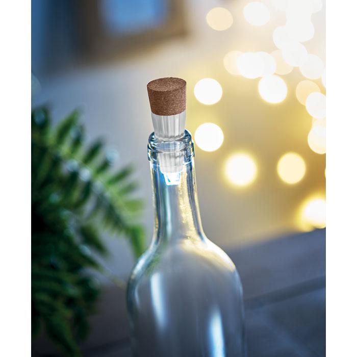 objet publicitaire - bouchon de bouteille publicitaire lumière LED Caplight