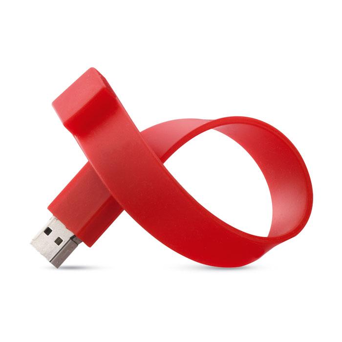 Clé USB publicitaire Silicone Wrist
