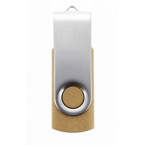 Objet publicitaire écologique - clé USB personnalisable VG- Mettle