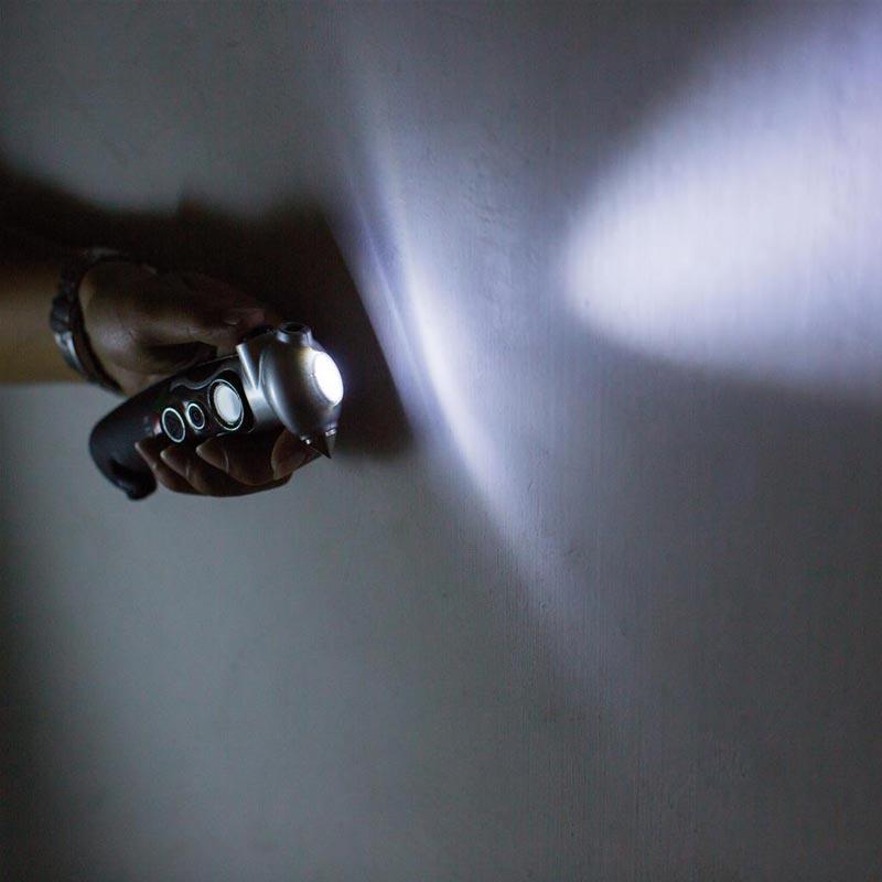 Manomètre promotionnel Toury - Lampe torche