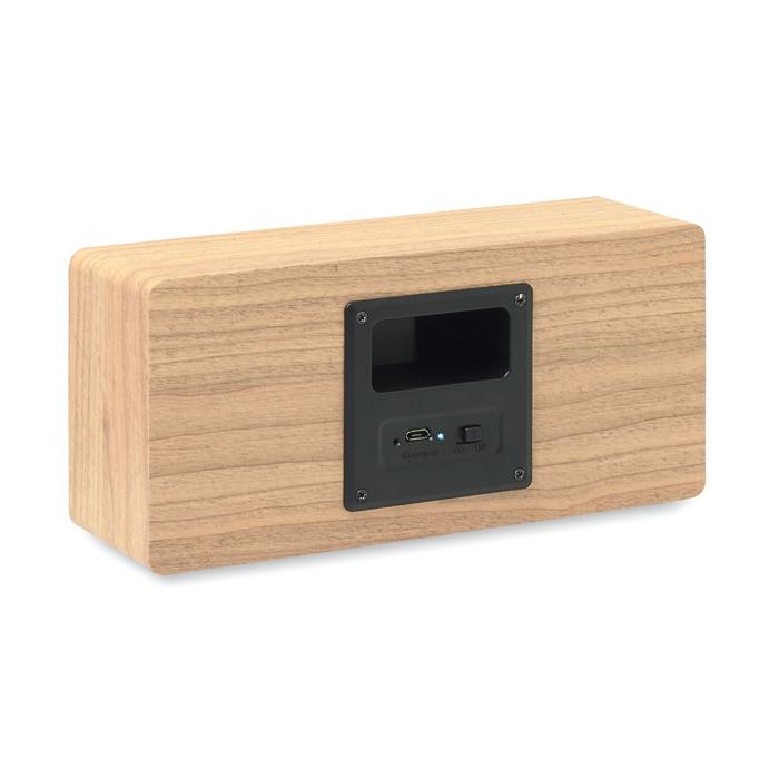 Haut-parleur personnalisé Bluetooth 2x3W Sonictwo - Cadeau d'entreprise
