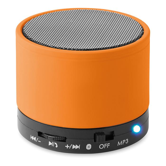 Enceinte publicitaire Bluetooth Roundbass - Cadeau d'entreprise high-tech