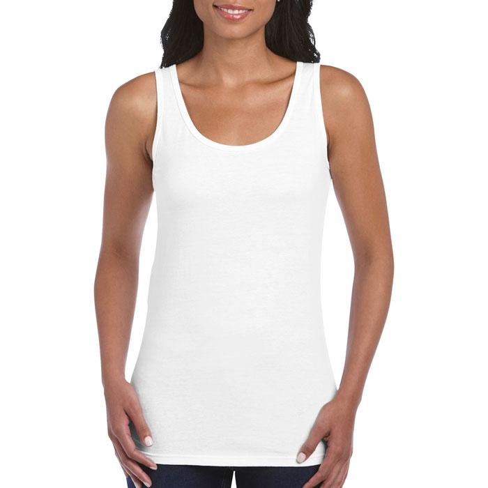 Textile personnalisé - Top sans manche Femme Michelle