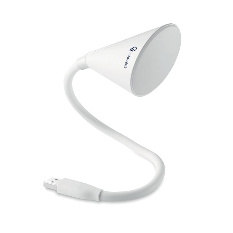 Cadeau publicitaire - Lampe USB haut-parleur Bluetooth THE LAMP