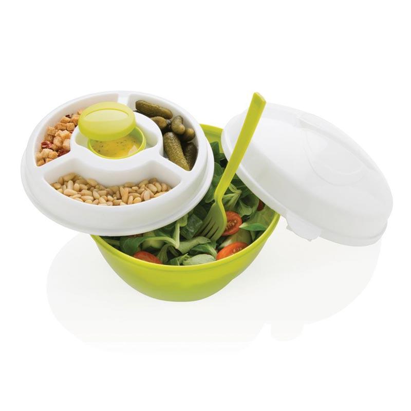 Lunch box publicitaire Salad2go - Vaisselle de pique-nique