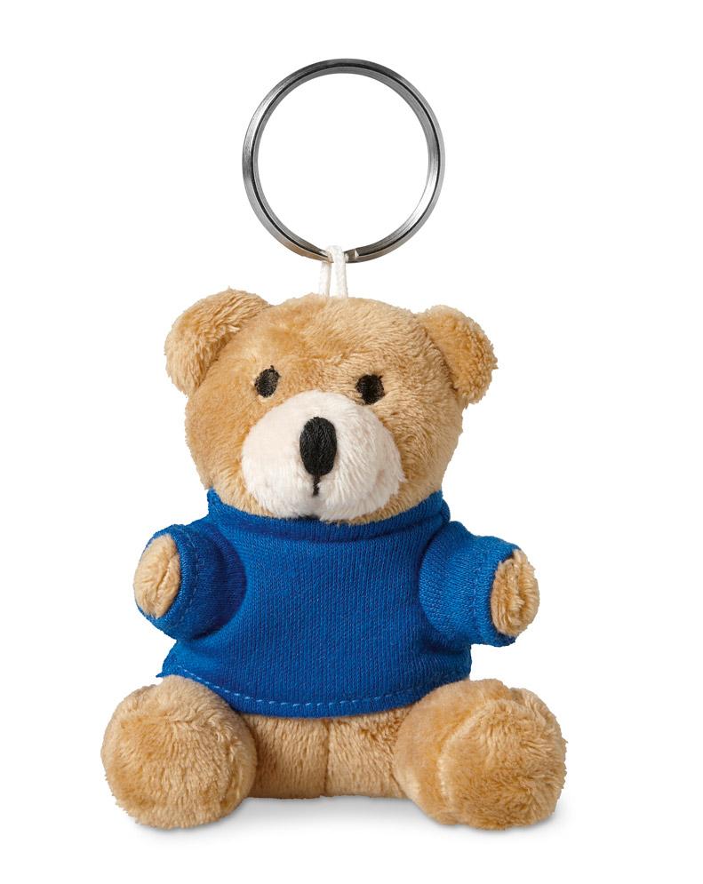 Porte-clés publicitaire pour enfant avec ourson - Objet promotionnel