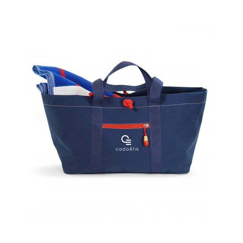 sac de plage publicitaire écologique citizen blue