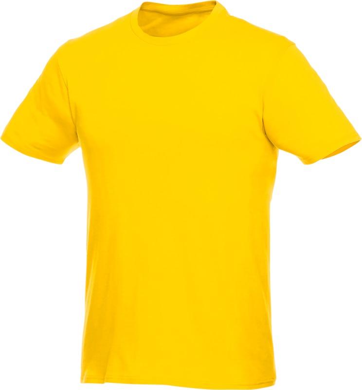 T-shirt jaune personnalisable par broderie Heros