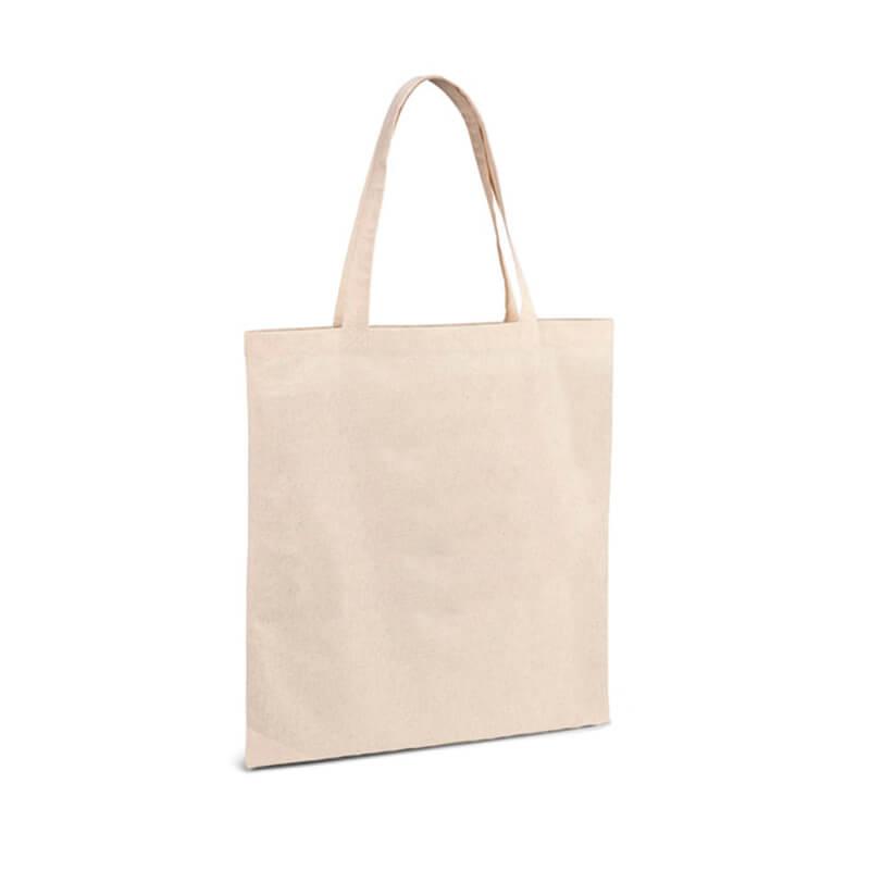 Tote bag publicitaire Thane en coton bio écru