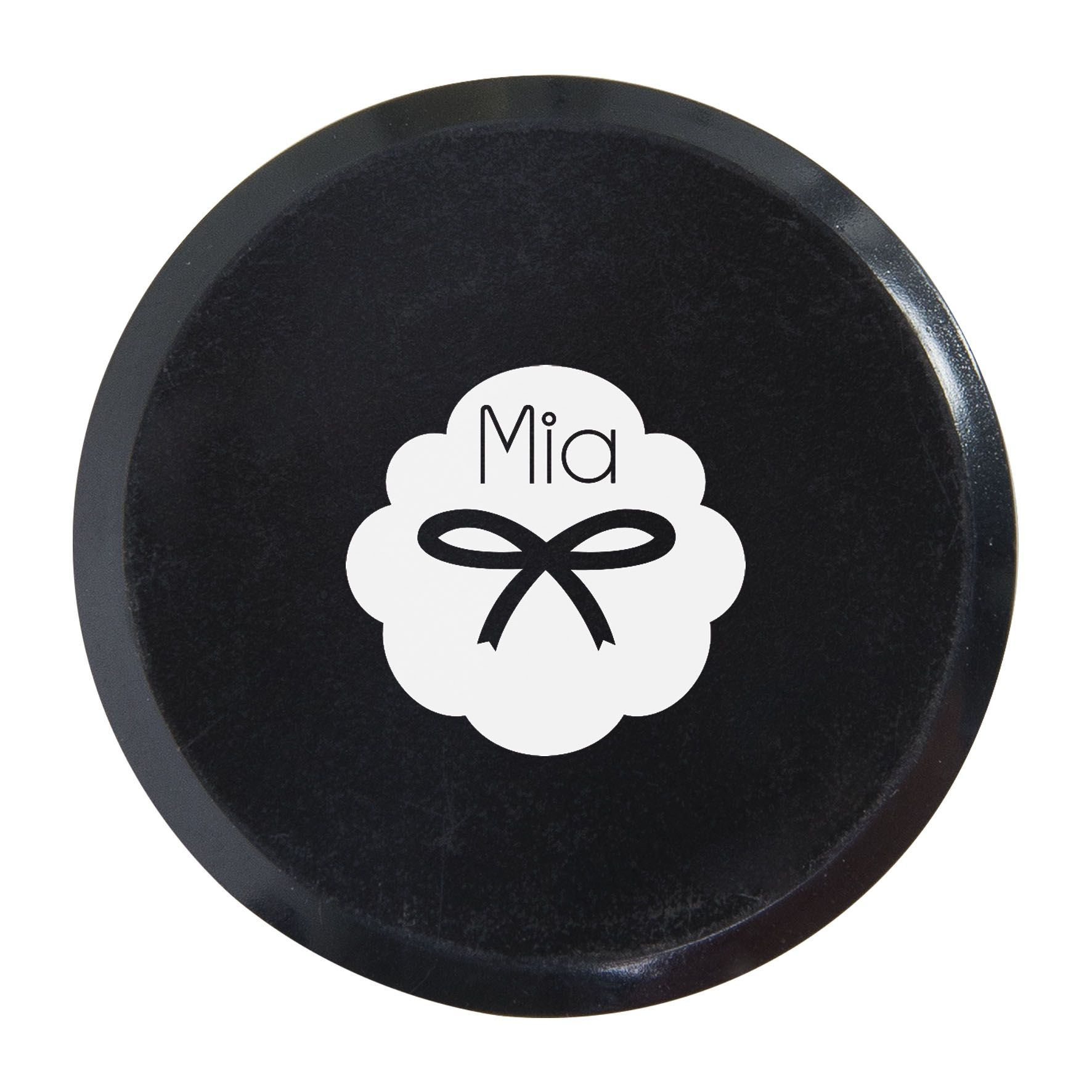 Goodies - Magnet personnalisable Ø 3cm - fond vert