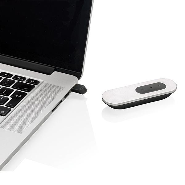 Cadeau d'entreprise - Pointeur laser publicitaire et télécommande de présentation Flat