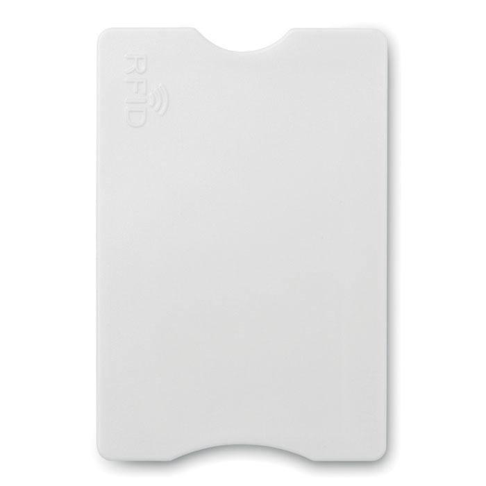 Porte-carte de crédit publicitaire Protector rouge - Goodies entreprise