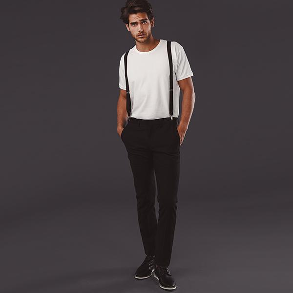 Textile personnalisé - Pantalon de costume pour homme Lisbon