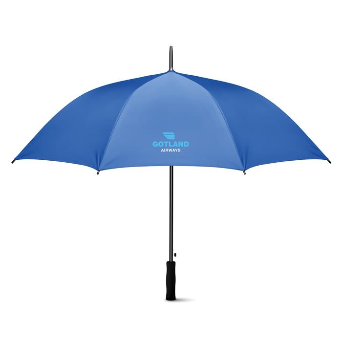 """Parapluie publicitaire 27"""" Swansea+ - Cadeau d'entreprise - bleu royal"""