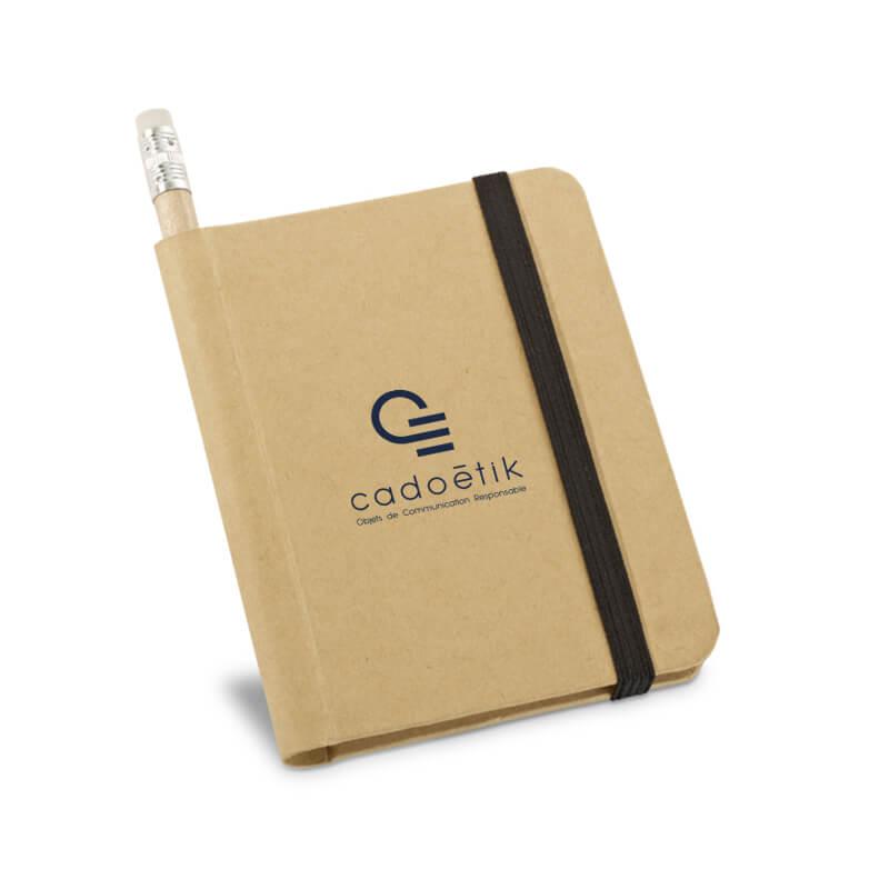 Carnet publicitaire et crayon Diary