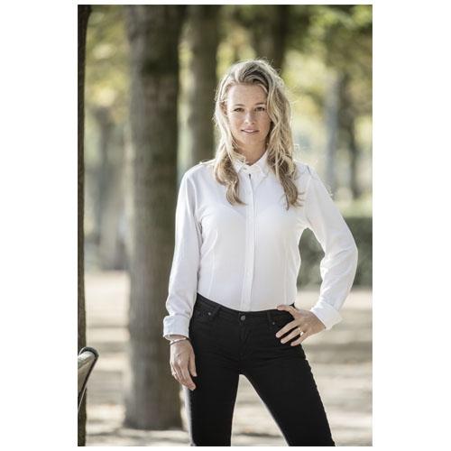 Chemise blanche personnalisable pour femme Bigelow - textile personnalisé