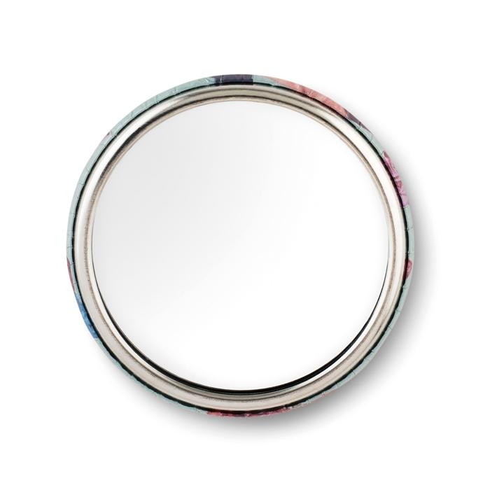 Goodies salons - Badge personnalisable miroir Mirror
