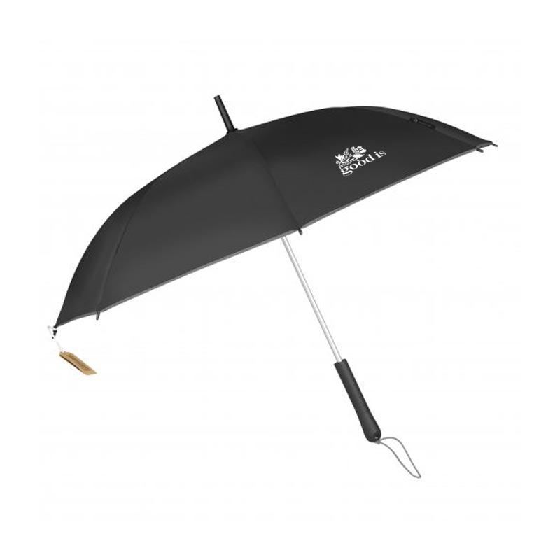 Parapluie publicitaire écologique RPET Andromède - Goodies entreprise