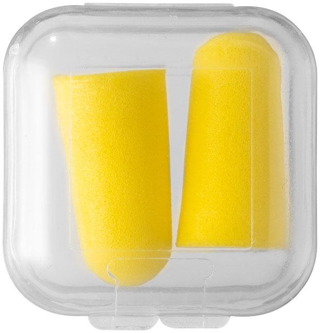 Bouchons anti-bruit Tranquillity jaunes