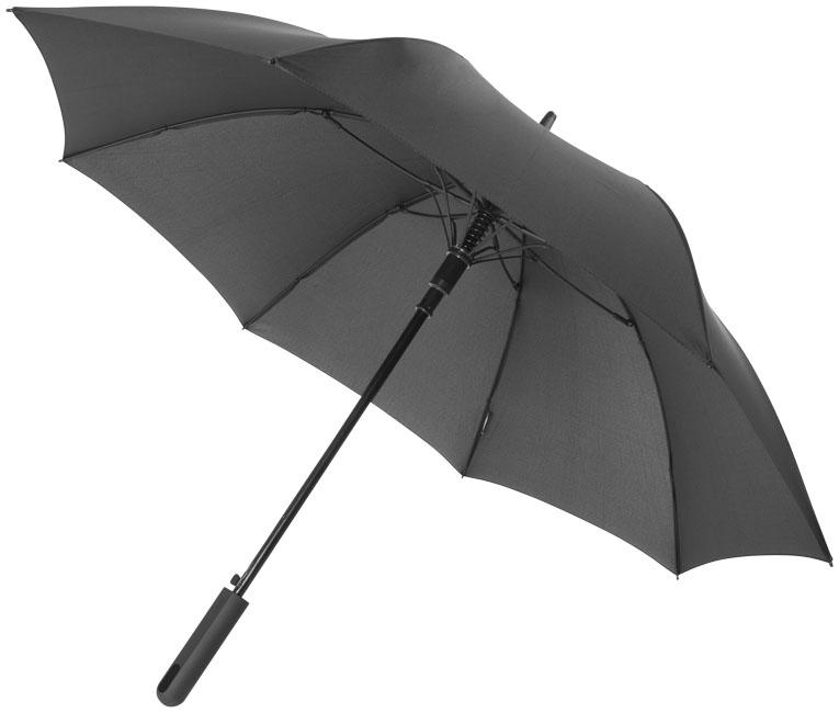 Parapluie publicitaire Tempête Noon - parapluie personnalisable gris