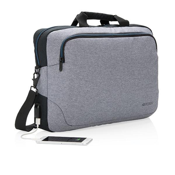"""Sacoche publicitaire pour ordinateur portable 15"""" Arata - Cadeau publicitaire"""