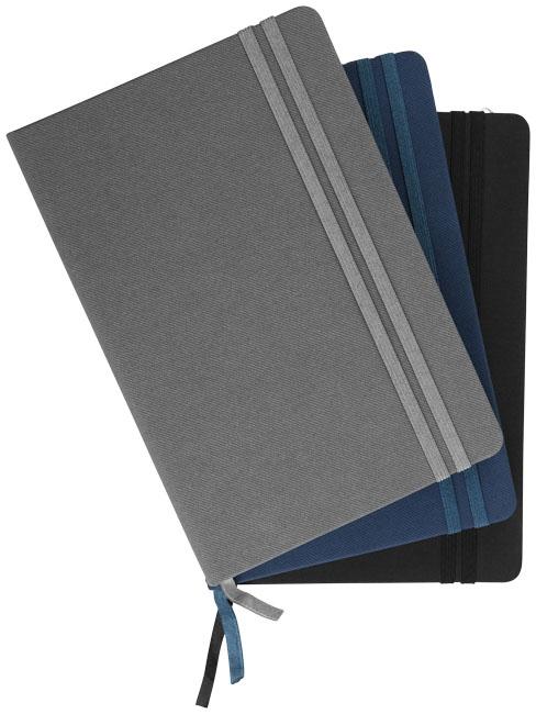 Bloc-notes publicitaire Color Denim - bloc-notes personnalisable bleu