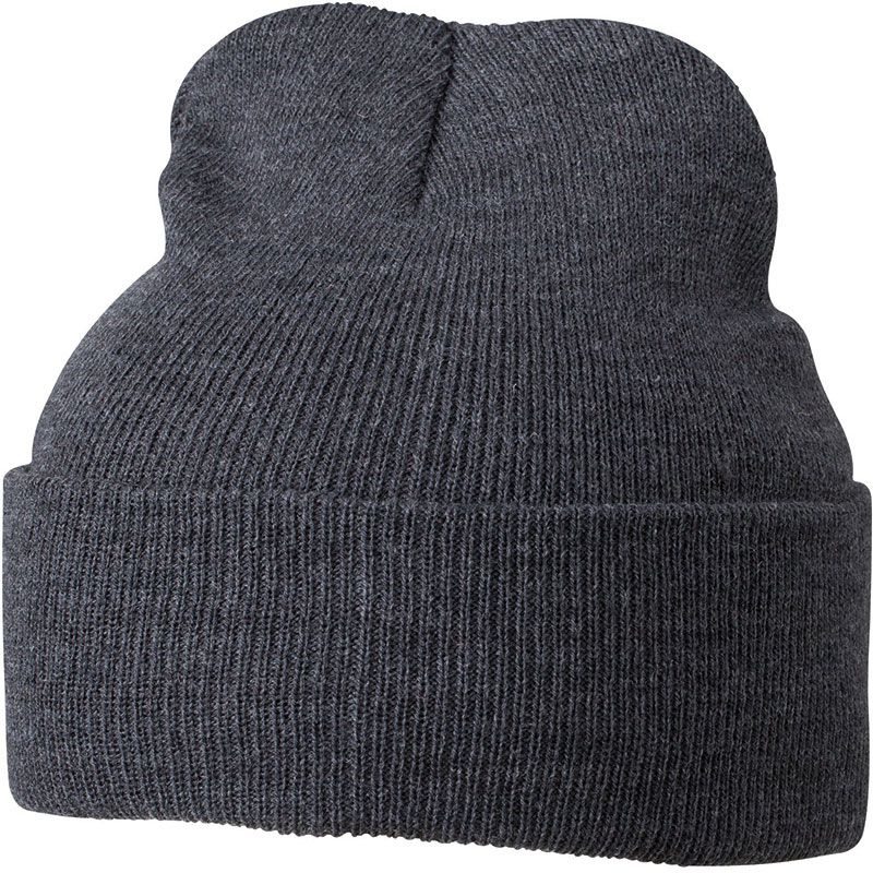 Cadeau personnalisé hiver - Bonnet publicitaire tricot à revers Snow