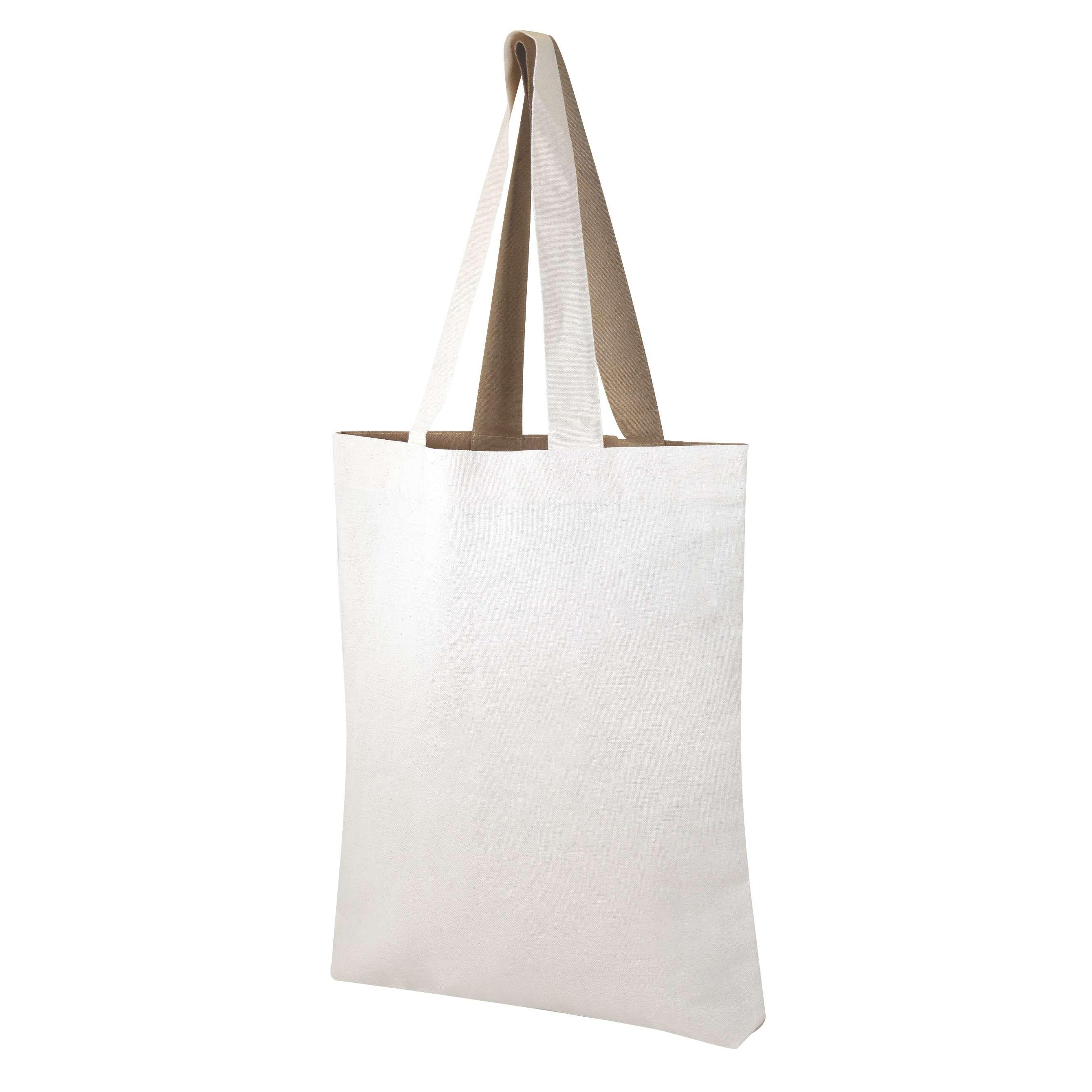 Sac shopping publicitaire écologique Visversa - Totebag  personnalisé bicolore