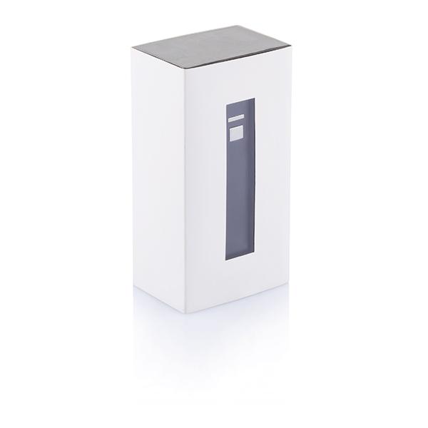 Batterie de secours publicitaire Save turquoise