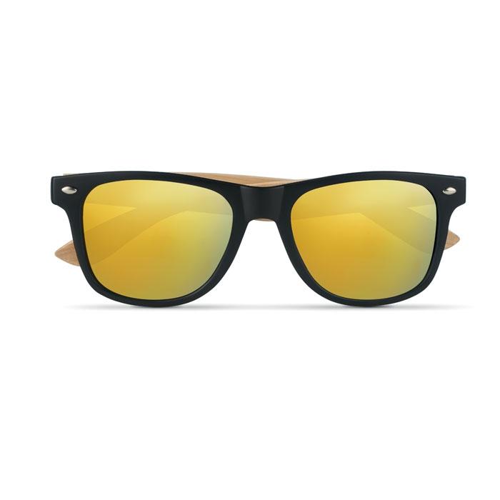 lunettes publicitaires - lunettes de soleil en bambou personnalisée california
