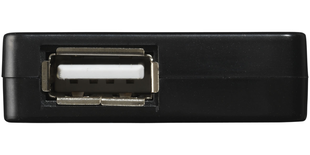 Objet publicicitaire - Hub USB publicitaire Brick - noir