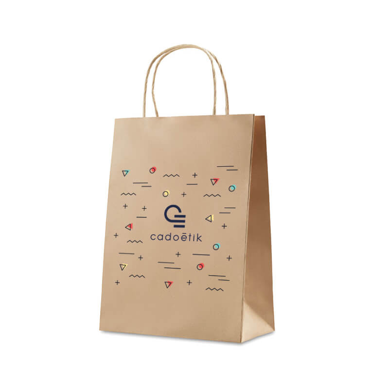 Sac en papier publicitaire Medium