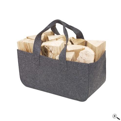 Sac cabas personnalisable en feutrine - sac à bois publicitaire Homy