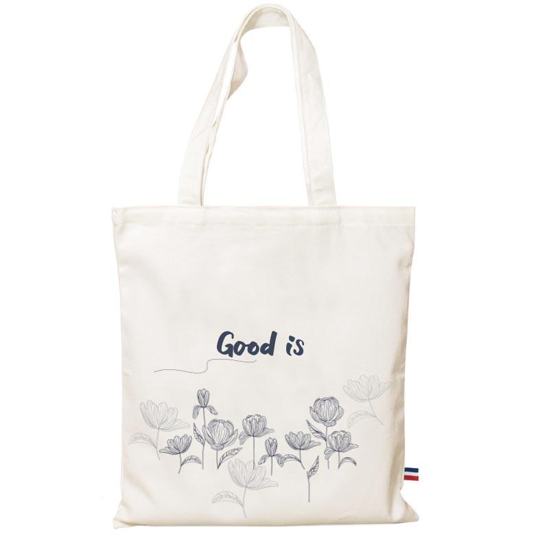 tote bag avec logo en coton bio Java