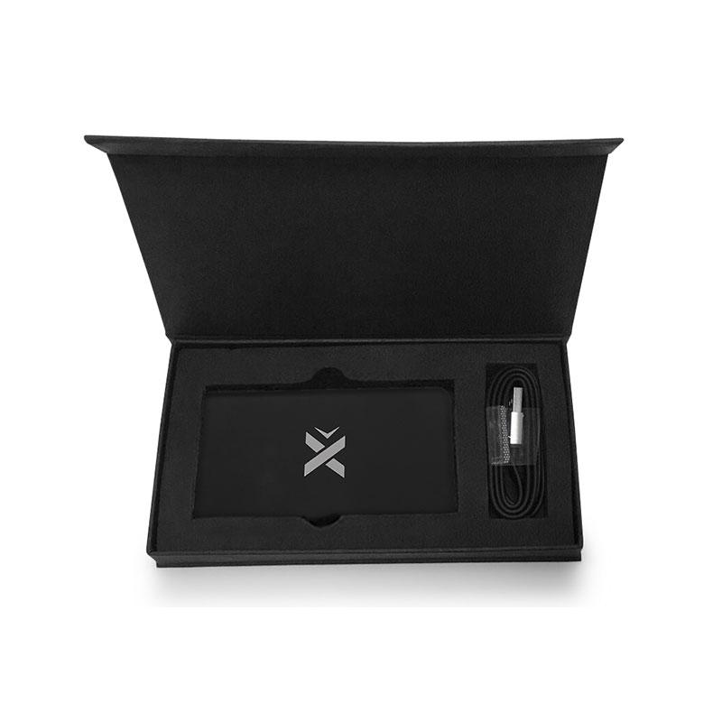 Boîte pour batterie de secours personnalisable double Slim
