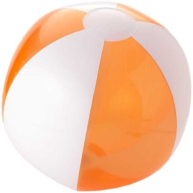 Objet publicitaire outdoor - Ballon de plage personnalisé Bondi - orange