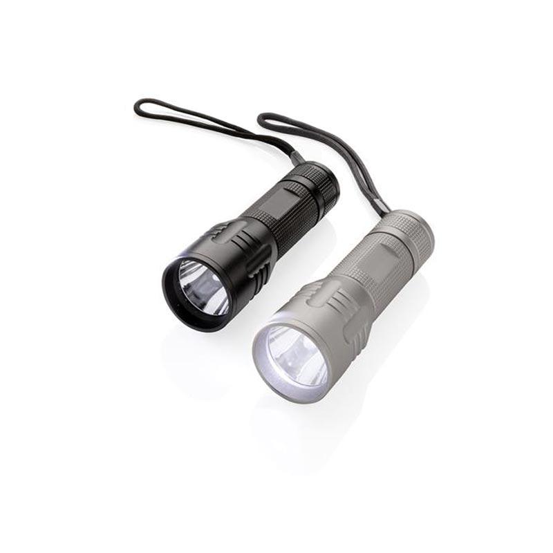 Lampe torche personnalisée CREE 3W Medium - Cadeau publicitaire
