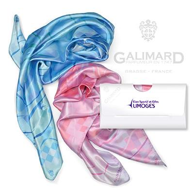 Foulard publicitaire Elixir GALIMARD - cadeau publicitaire