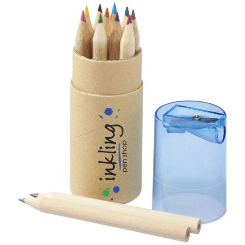 Goodies salon - Set de 12 crayons de couleur Joan
