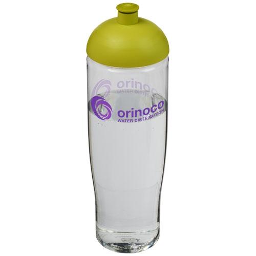 Bouteille de sport personnalisable H2O Tempo® 700 ml avec couvercle en dôme - rose