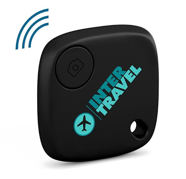 Traceur de clés publicitaire SmartFinder Home - bleu