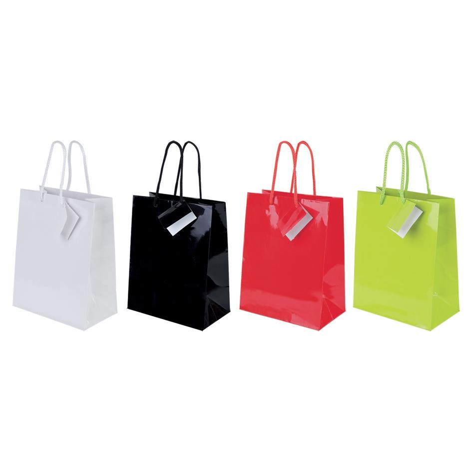 Sac shopping personnalisable Shiny - sac shopping publicitaire