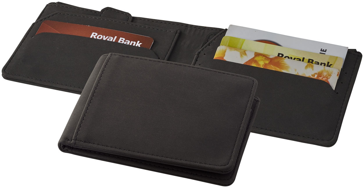 Objet publicitaire voyage - Portefeuille personnalisé RFID Adventurer