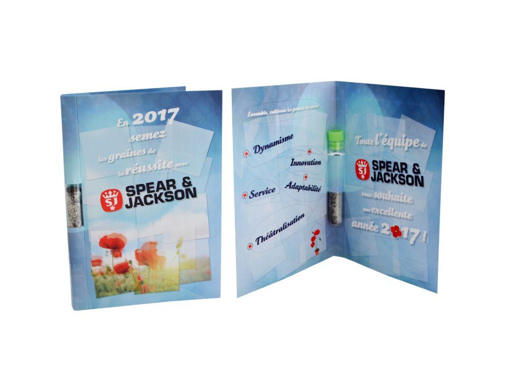 La Graine Postale - carte publicitaire à graines - objet publicitaire pour envoi postal