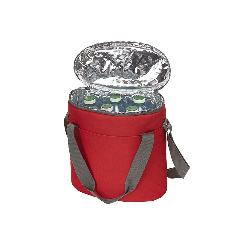 Sac isotherme publicitaire Solution rouge