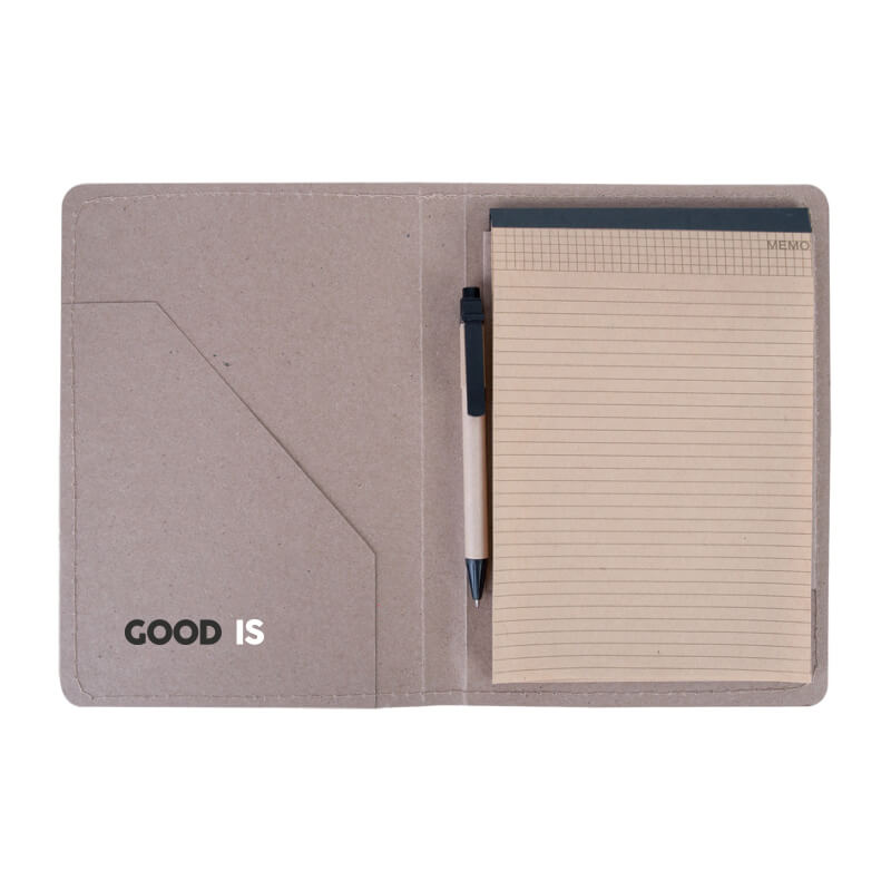 Goodies écologique - Conférencier A5 en papier recyclé Centaure