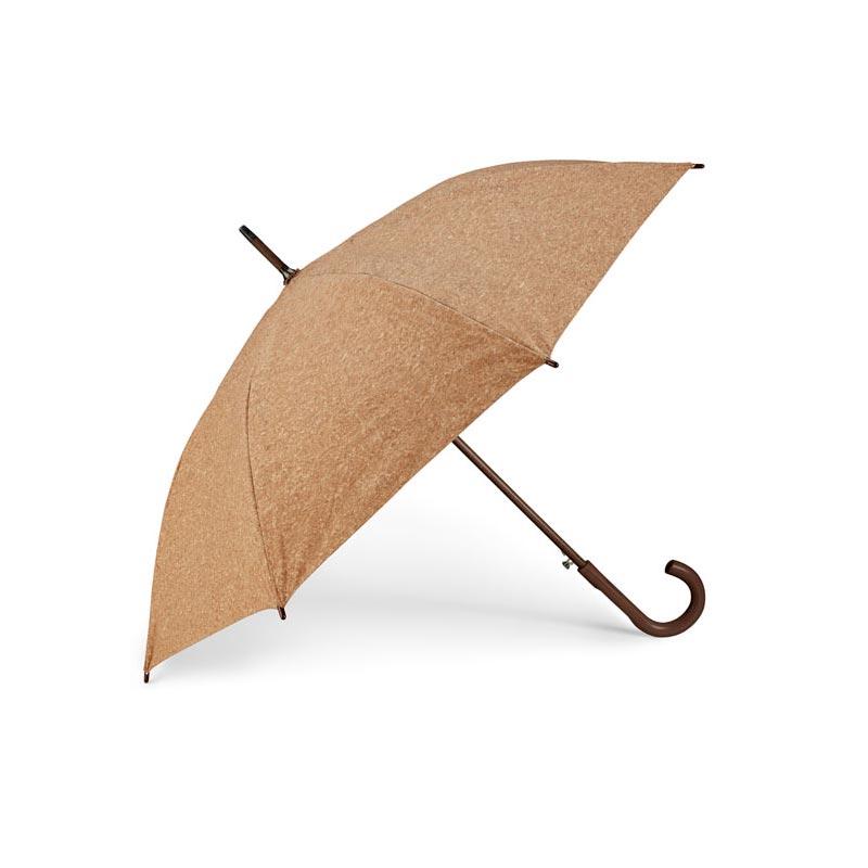 Parapluie en bois et liège Beja