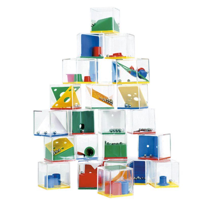 Cadeau publicitaire pour enfants - Boîte de 24 jeux Kubulo